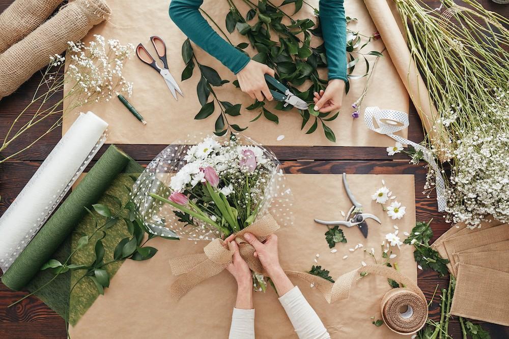 Conserver bouquet de fleurs