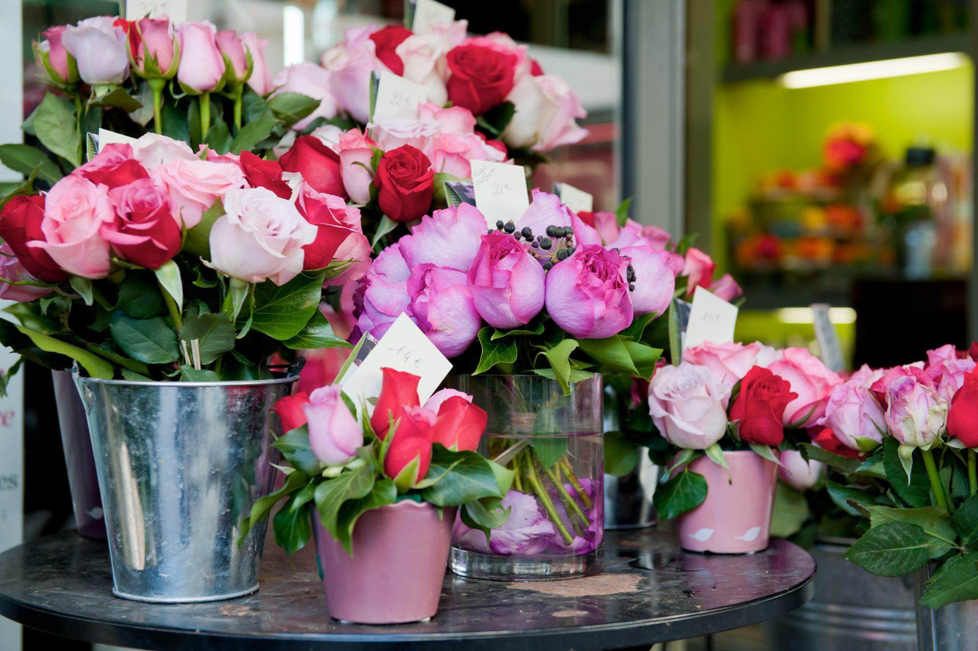 Tarifs fleuriste